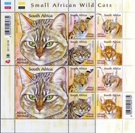 2011 Small African Wildcats - Blocks & Kleinbögen