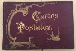 ALBUM ANCIEN POUR CARTES POSTALES ANCIENNES - Sin Clasificación