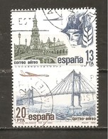 España/Spain-(usado) - Edifil  2635-36  - Yvert  Aéreo 298-99 (o) - Afgestempeld
