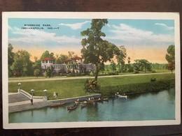 Cp, Riverside Park, Indianapolis, Indiana, N°7, éd Kroff Co, écrite, Etats Unis - Indianapolis