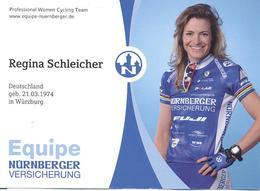 Cyclisme, Regina Schleicher - Cyclisme