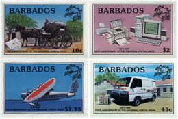 Ref. 46832 * NEW *  - BARBADOS . 1999. 125th ANNIVERSARY OF UPU. 125 ANIVERSARIO DE LA UPU - Barbados (1966-...)