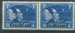 Basoutoland - Yvert N° 31 /34 **   Se Tenant - Ay 14905 - 1933-1964 Crown Colony