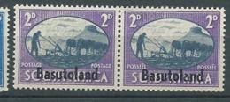 Basoutoland - Yvert N° 30 /33 **   Se Tenant - Ay 14906 - 1933-1964 Crown Colony