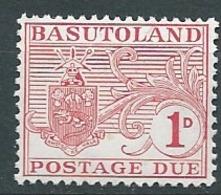 Basoutoland  - Taxe  - Yvert N° 7 ** Ay 14909 - Postage Due