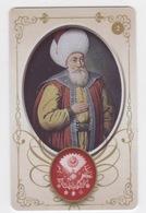 OTTOMAN  ORHAN GAZI,SIGNATURE ( TUGRA )PLASTIC CARD - Autres Collections
