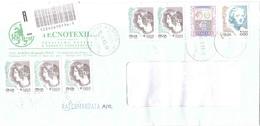 RACCOMANDATA ANNULLO ALBINO BG - 2001-10: Poststempel