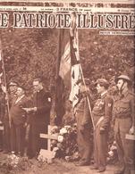 Le Mouvement National Belge à L'Honneur-Armée Secrète-Résistance-2 Pages-5 Photos-Le Patriote Illustré-1945 - 1900 - 1949