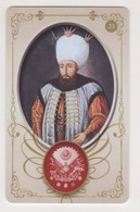 OTTOMAN III AHMED,SIGNATURE ( TUGRA )PLASTIC CARD - Autres Collections