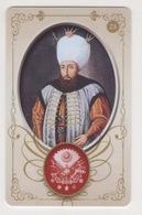 OTTOMAN III AHMED,SIGNATURE ( TUGRA )PLASTIC CARD - Altri