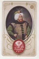 OTTOMAN II MUSTAFA ,SIGNATURE ( TUGRA )PLASTIC CARD - Autres Collections