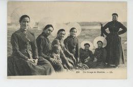 Un Groupe De Matelotes (carte écrite à WIMILLE En 1913 ) - France