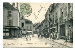 71 - Saône Et Loire - Chagny - Rue Du Bourg (0787) - Chagny
