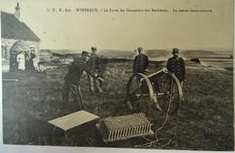 CPA-  WIMEREUX --LE POSTE DES DOUANIERS DES ROCHETTES. LE CANON LANCE-AMARRE.. - Autres Communes