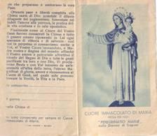 Santino Cuore Immacolato Di Maria - Pieghevole A Due Ante - Images Religieuses