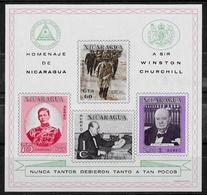 NICARAGUA - WINSTON CHURCHILL - BF 105 - NEUF** - Sir Winston Churchill