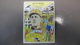 Autocollant Charles De Gaulle 1939 1945 Loon Plage Par Brière - Militaria