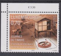 Luxembourg 2018 - émission Septembre 2018 - JT 2018 -Station De Freinage - Journée Du Timbre