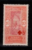 Dahomey - YV 60 N* Croix Rouge - Unused Stamps