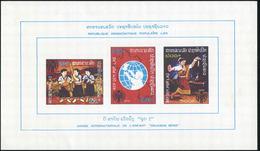 Laos 1979 - BF 61 ; Block 84 (*) MNG - Laos