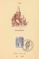 Feuillet 2058 Geraardsbergen - Feuillets