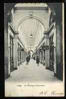 Liège Le Passage Lemonnier 1905 Animée Smeets Ecole Professionnelle Coupe Couture Pionnière - Liège
