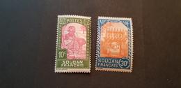 Soudan Yvert 131-132** - Soudan (1894-1902)