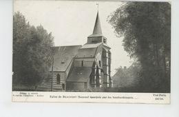 GUERRE 1914-18 - Eglise De BEAUFORT épargnée Par Les Bombardements - Edit. LAPINA - Guerre 1914-18