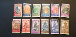 Soudan Yvert 110-121** - Soudan (1894-1902)