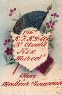 Carte 1930 ST AVOLD RIX MARCEL MON MEILLEUR SOUVENIR DU 146 IEME RI . RF . 4 IEME COMPAGNIE - Saint-Avold
