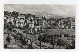Svizzera - Herisau - Panorama - Treno - Viaggiata Nel 1961 - (FDC20738) - AR Appenzell Rhodes-Extérieures