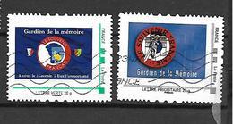 France. Mon Timbre à Moi. Souvenir Français. Lot De 2 Oblitérés  Envoi France 0,95 €. Europe 1,40 €. - Personalisiert (MonTimbraMoi)