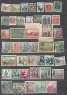 42 TIMBRES ESPAGNE - Sammlungen