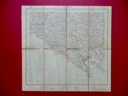 Carta Topografica Telata La Spezia IGM 1907 Cinque Terre Liguria - Other Collections