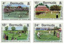 Ref. 47998 * NEW *  - BERMUDAS . 1973. CENTENARY OF TENNIS IN BERMUDAS. CENTENARIO DEL TENIS EN LAS BERMUDAS - Bermuda