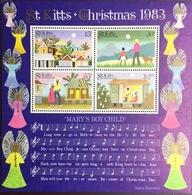 St Kitts 1983 Christmas Minisheet MNH - St.Kitts And Nevis ( 1983-...)