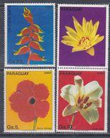 Paraguay PA  N° 936 / 38 XX Fleurs Sud-américaine, Les 3 Valeurs Sans Charnière TB - Paraguay