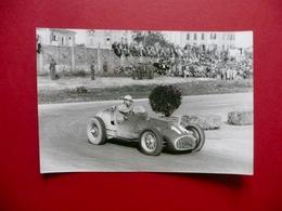 Fotografia Ascari Ferrari Auto Gara Foto Corrado Millania Milano Anni '50 - Photos
