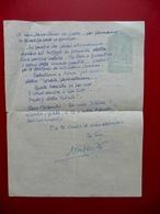 Autografo Vincenzo Errante Lettera Riva Del Garda Germanista Filologia 1949 - Autographes