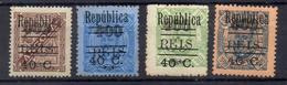 PORTUGAL Et COLONIES !  Timbres Anciens SURCHARGES NEUFS* De 1928-29 - 1910 : D.Manuel II