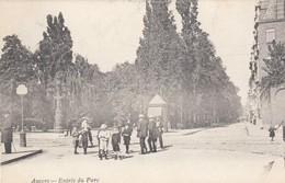 ANTWERPEN /  INGANG VAN HET PARK  1905 - Antwerpen