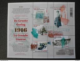 België Belgium 2016 - De Groote Oorlog - Het Verzet / The Great War World War I - The Resistance - Part III - Belgique