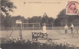 COUVIN / LES JEUX DE TENNIS ET DE FOOTBALL  1924 - Couvin