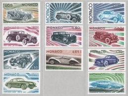 MONACO 1975 - SERIE N° 1018 A 1028 - 11 TP NEUFS** - Monaco