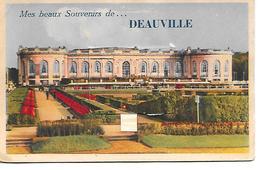 Carte A Systeme Mes Beaux Souvenirs De Deauville 10 Vues - Deauville