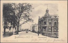 AK Brandenburg A. Havel Havelstraße, Gelaufen 1902 - Brandenburg