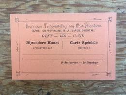 GAND - GENT - Exposition Provinciale 1899 - Gent