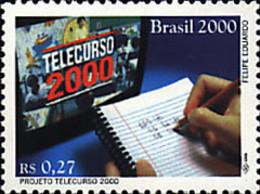 Ref. 77633 * NEW *  - BRAZIL . 2000. TELECURSO 2000 PROJECT. PROYECTO TELECURSO 2000 - Brasil
