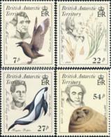 Ref. 28964 * NEW *  - BRITISH ANTARCTIC TERRITORY . 1985. NATURALISTS. NATURALISTAS - Unused Stamps