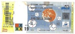Billet COUPE DU MONDE 98 - CHILI-AUTRICHE - RARE NON UTILISÉ - Stade Geoffroy Guichard à Saint-Etienne - Habillement, Souvenirs & Autres